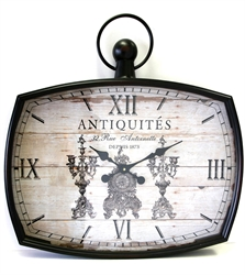 Picture of Iron Clock Depuis 1873     WCL12