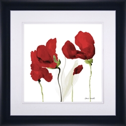 Picture of All Red Poppies Il GL00837