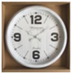 Picture of New Round White Clock       CL70034