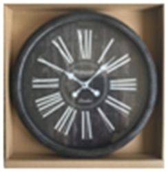 Picture of  Round Black Clock         CL70035